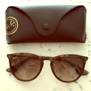 Ray-Ban Erica Brown Sunglasses